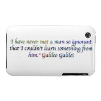 Galileo Galilei quote iPhone 3 Cover