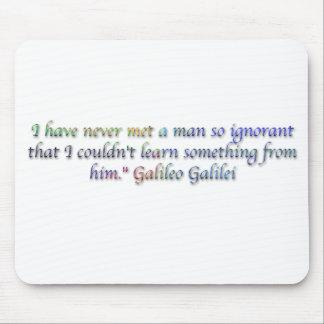 Galileo Galilei quote Mousepads