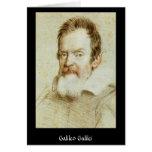 Galileo Galilei Tarjeta De Felicitación