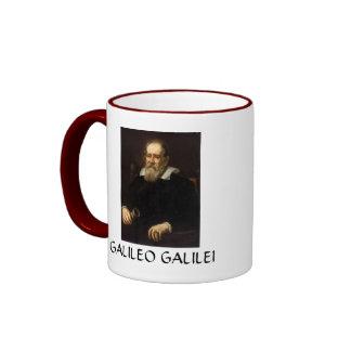 Galileo Galilei * taza de café del retrato