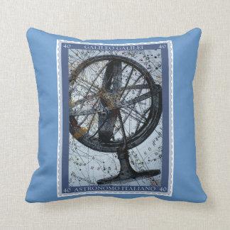 Galileo Globe Throw Pillow
