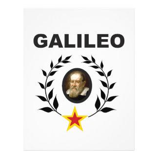 galileo in glory crown letterhead