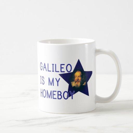 Galileo is my Homeboy Classic White Coffee Mug