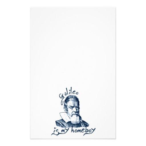 Galileo is My Homeboy Customized Stationery