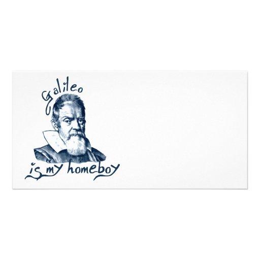 Galileo is My Homeboy Photo Card