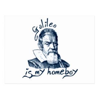 Galileo is My Homeboy Postcard