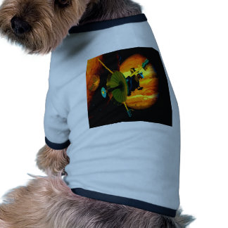 galileo jupiter space sky outer space exploration dog tshirt