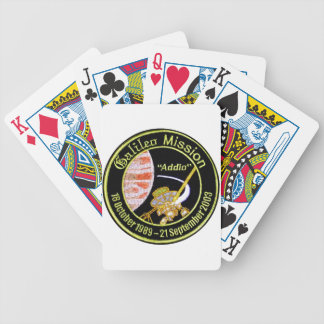 Galileo Mission to Jupiter Bicycle Playing Cards