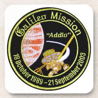 Galileo Mission to Jupiter Beverage Coasters