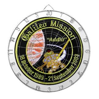 Galileo Mission to Jupiter Dartboards
