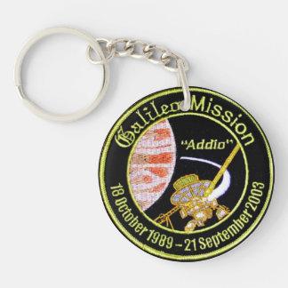 Galileo Mission to Jupiter Double-Sided Round Acrylic Keychain