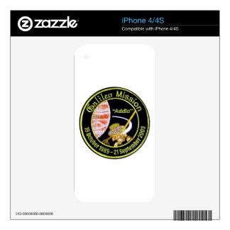 Galileo Mission to Jupiter iPhone 4 Decals