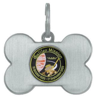 Galileo Mission to Jupiter Pet ID Tag