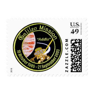 Galileo Mission to Jupiter Postage Stamp