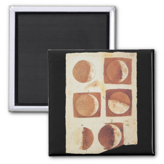 Galileo moon phases 1616 magnet