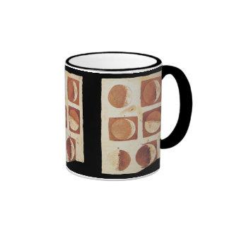 Galileo moon phases 1616 ringer coffee mug