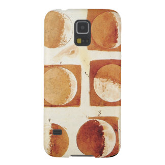 Galileo moon phases drawing sketch astronomy case for galaxy s5