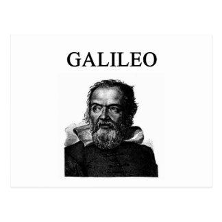GALILEO POSTCARD