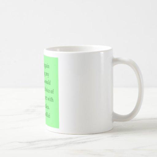 Galileo quote coffee mugs