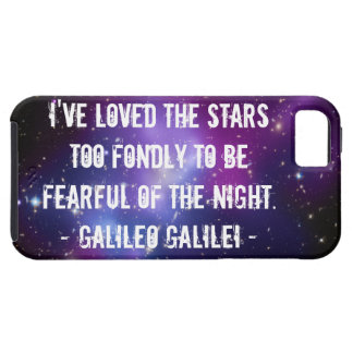 Galileo Quote Galaxy Cluster Case-Mate Case iPhone 5 Cover