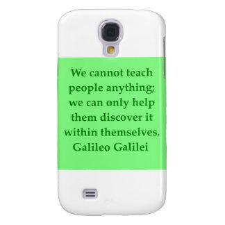 Galileo quote galaxy s4 case