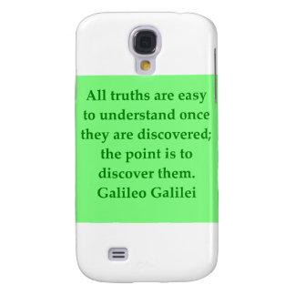 Galileo quote galaxy s4 cover