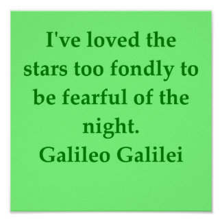 Galileo quote print