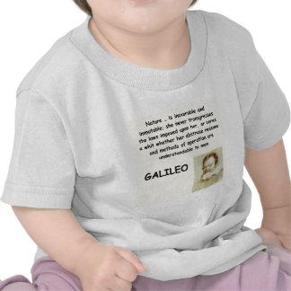 galileo quote shirts