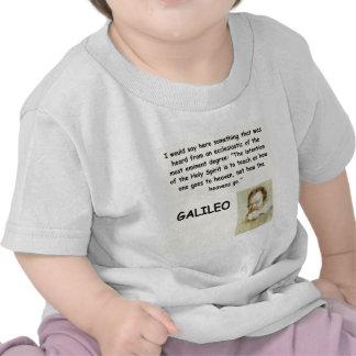 galileo quote t shirts