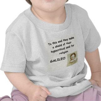 galileo quote t-shirts