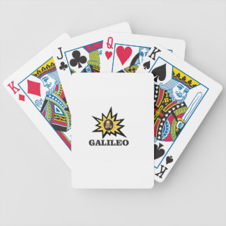 galileo sparks bicycle playing cards