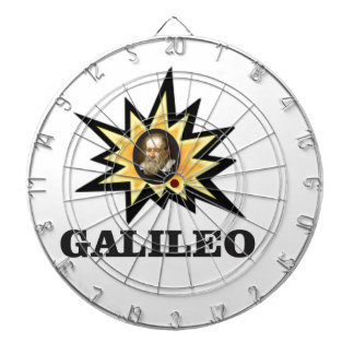 galileo sparks dartboard with darts