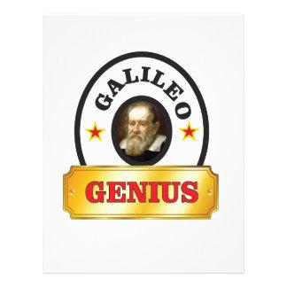 Galileo stars letterhead