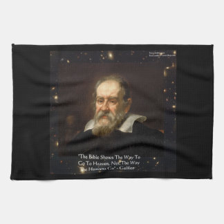"""Galileo """"Way To Heaven"""" Kitchen Towel by Rick Lond"""
