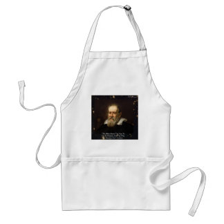 """Galileo """"Way To Heaven"""" Quote Gifts Tees Mugs Etc Adult Apron"""