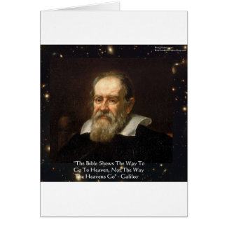 """Galileo """"Way To Heaven"""" Quote Gifts Tees Mugs Etc Card"""