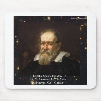 """Galileo """"Way To Heaven"""" Quote Gifts Tees Mugs Etc Mouse Pad"""