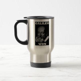 Galileo Won Travel Mug