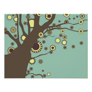GALINA el árbol Comunicados Personalizados