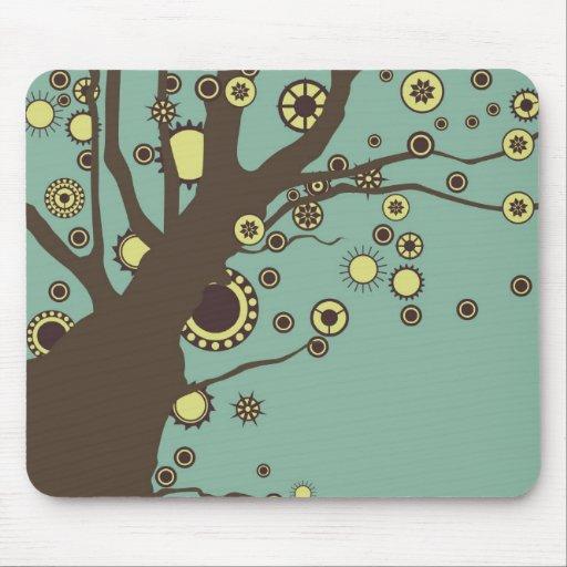 GALINA el árbol Tapetes De Ratones