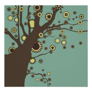 GALINA the Tree Poster