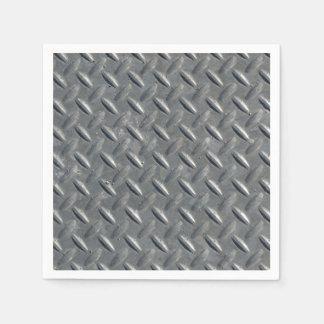 Galjanoplastia de acero del diamante servilletas de papel