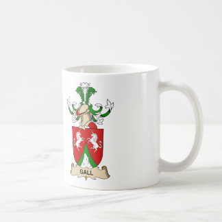 Gall Family Crest Classic White Coffee Mug