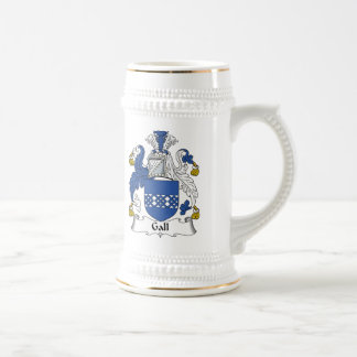 Gall Family Crest Coffee Mugs