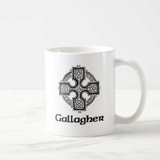 Gallagher Celtic Cross Coffee Mug