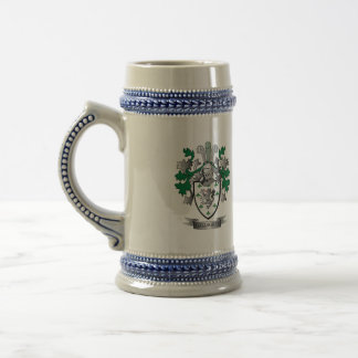 Gallagher Coat of Arms Beer Stein