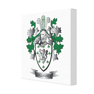 Gallagher Coat of Arms Canvas Print