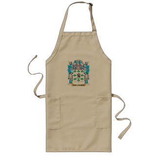 Gallagher Coat of Arms - Family Crest Long Apron