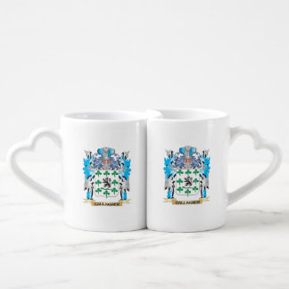 Gallagher Coat of Arms - Family Crest Couples' Coffee Mug Set