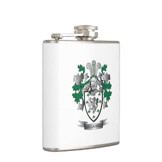 Gallagher Coat of Arms Hip Flask
